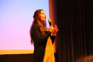 Ambassador  of India speaks to Portuguese Students