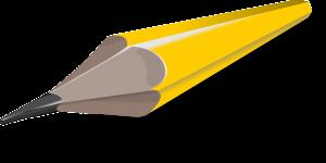 pencil, pointed, pen
