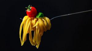 spaghetti, pasta, noodles