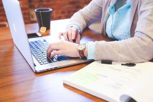 student, typing, keyboard