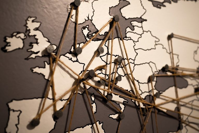 world, europe, map