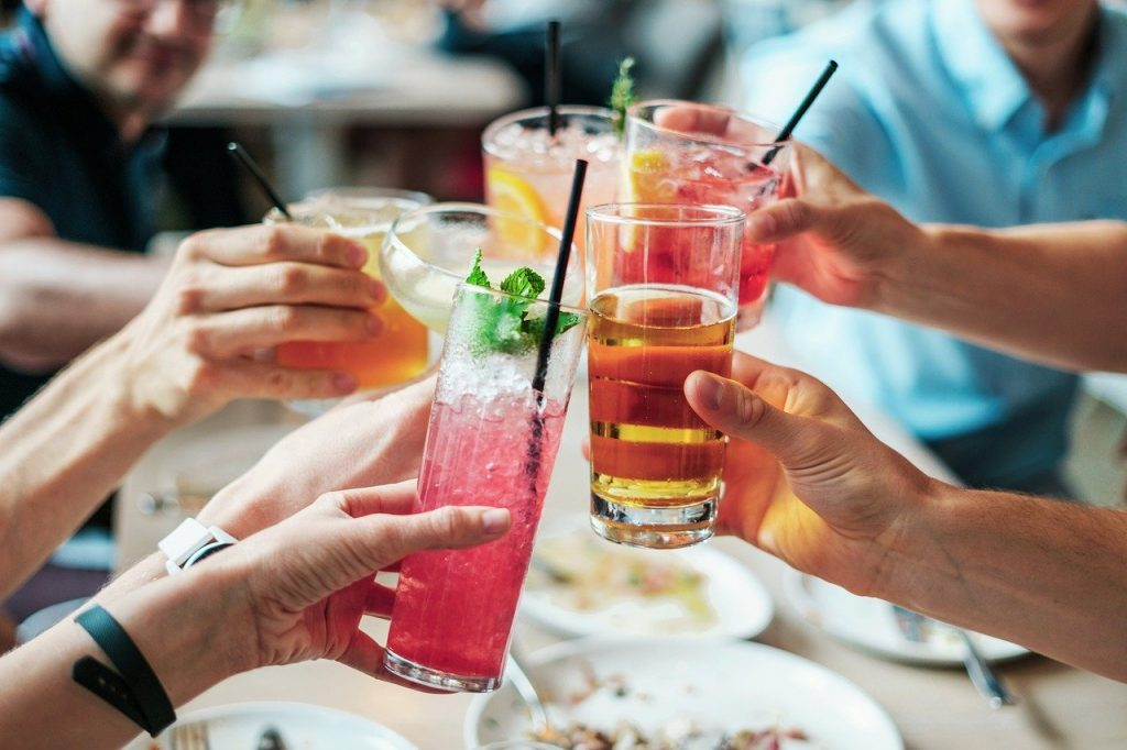 drinks, alcohol, cocktails